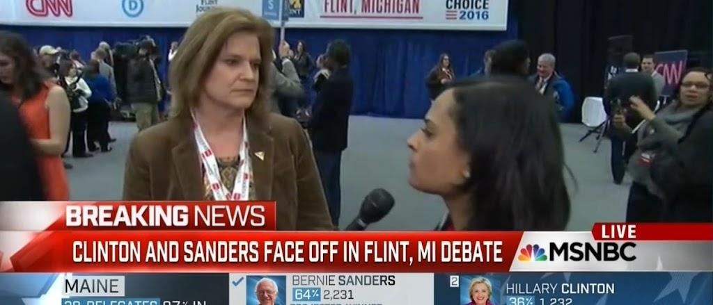 NBC journalist coaches Clinton aide before interview