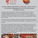 Educational Trip to Porkie's by Flavours 22062015