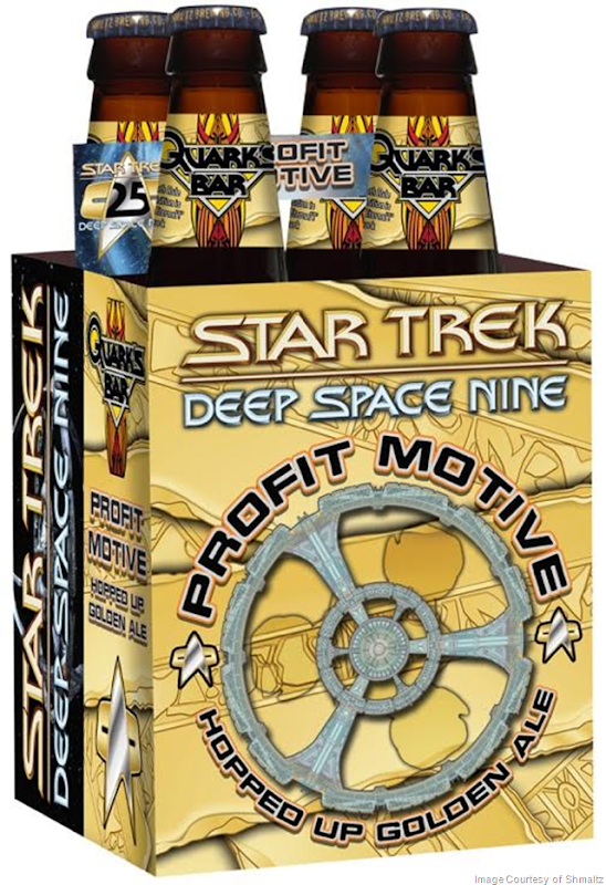 """Star Trek: Deep Space Nine"" 25th Anniversary Collector's Edition Beer Nationally Released by Shmaltz Brewing Company"
