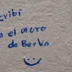 """""""Escribí en el Muro de Berlin :)"""""""