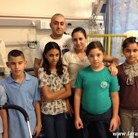 طلاب الشافعي بمستشفى هيلل يافه