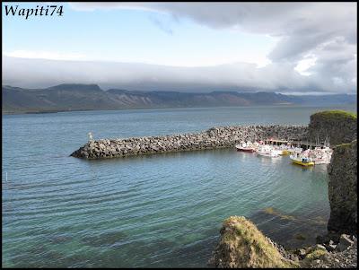 Un tour  d'Islande, au pays du feu... et des eaux. 8bis-Arnastapi