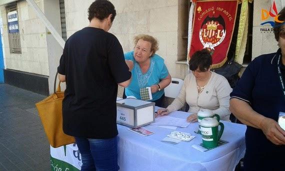 """La Falla del Duc en la """"Cuestación contra el Cáncer"""""""