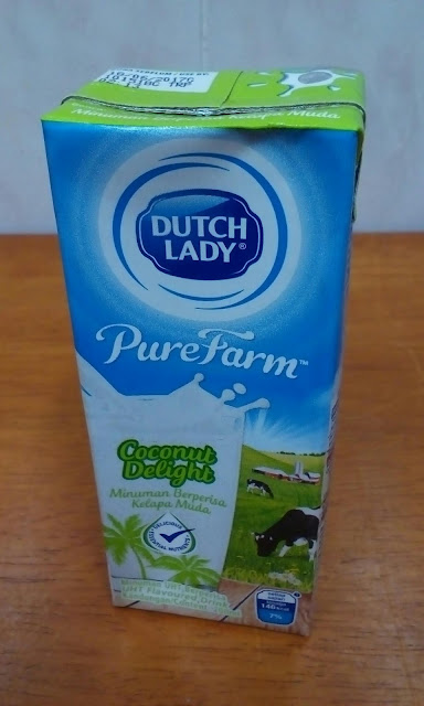 Susu Dutch Lady PureFarm - Coconut Delight