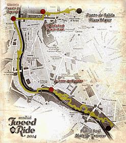 Tweed Ride Madrid 2014, domingo 8 de junio