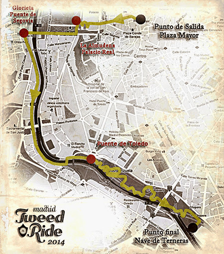 Tweed Ride Madrid 2014, domingo 8 de junio