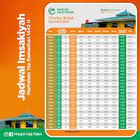 Jadwal Imsakiyah Sulawesi Selatan 2021 CDR Corel Draw Photoshop