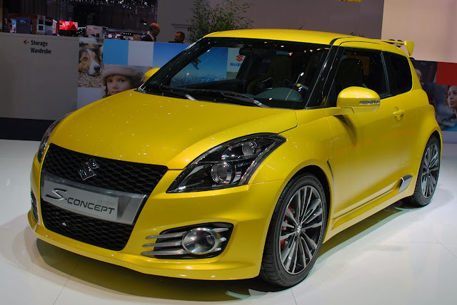 Suzuki Swift S-Concept, el retorno del Swift GTI
