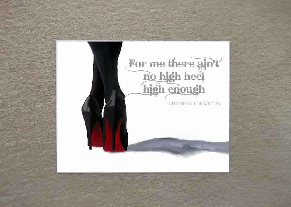 c27987b7f15 ... usa details about christian louboutin black shoes art print fashion  quote 998x709 fdad8 38323