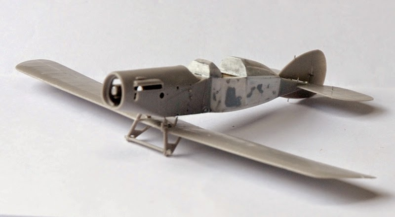 Bristol type 28 Tourer  ( 1/72 Roden )... fini!!! Train4