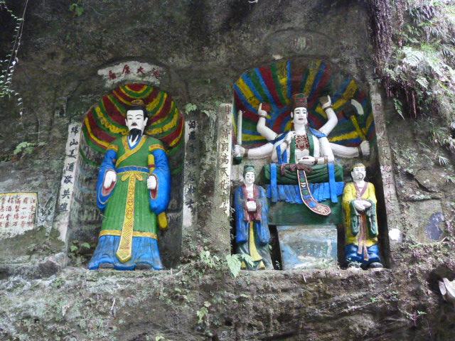 CHINE.SICHUAN.PING LE à 2 heures de Chengdu. Ravissant .Vallée des bambous - P1070624.JPG