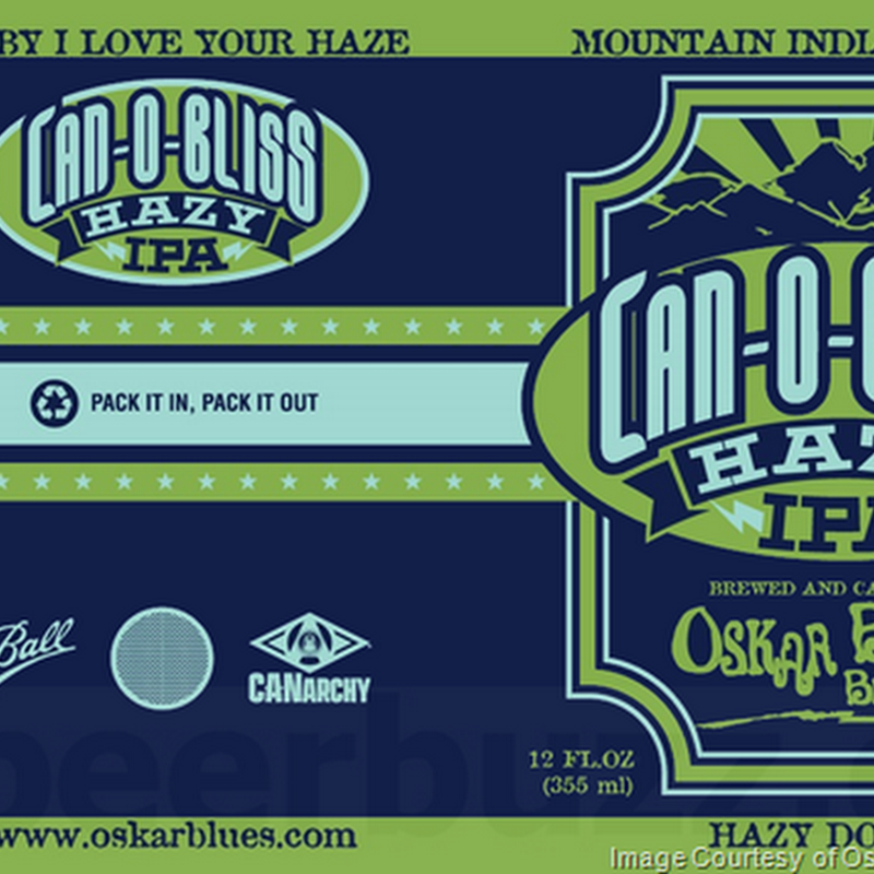 Oskar Blues Adding NEW Can-O-Bliss Hazy IPA Cans