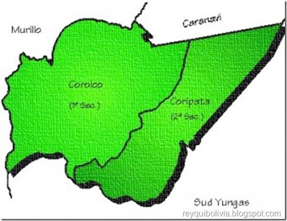 Provincia Nor Yungas: Departamento de La Paz (Bolivia)