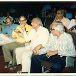 AV Rama Rao, PMB, P N Haksr, Melkote, 1989.jpg