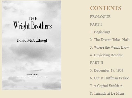 The wright brothers full book online