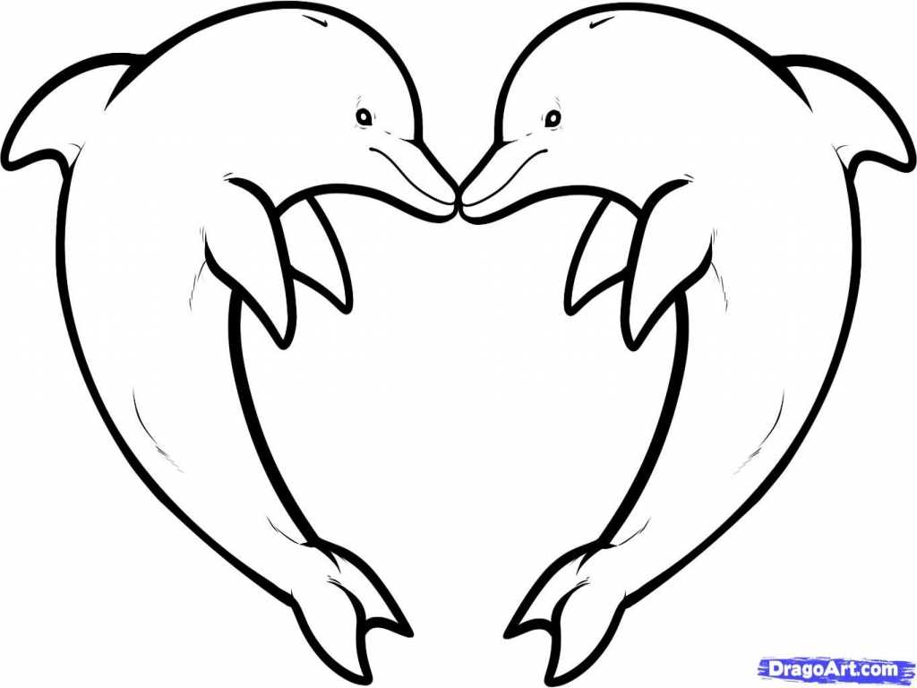 Top Baby Dolphin Coloring Pages Photos