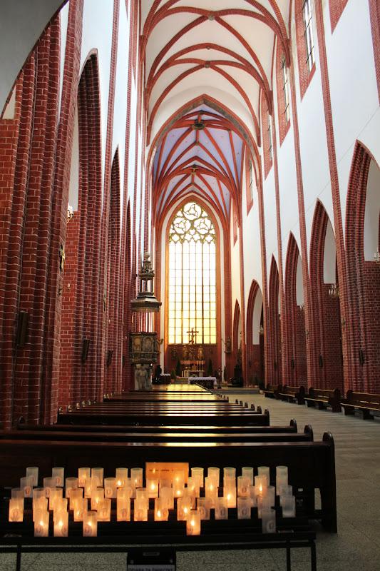 Interior de Iglesia Santa María Magdalena (Wroclaw)
