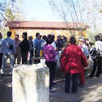 Comida comunitaria en el Vivero el 22 de noviembre de 2009