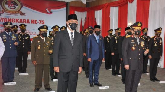 Di Hari Bhayangkara ke-75, Gubernur Mahyeldi: Polri Teruslah Berikan Pelayan Yang Terbaik