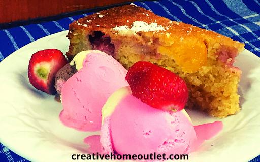 Fruit Cake Dessert