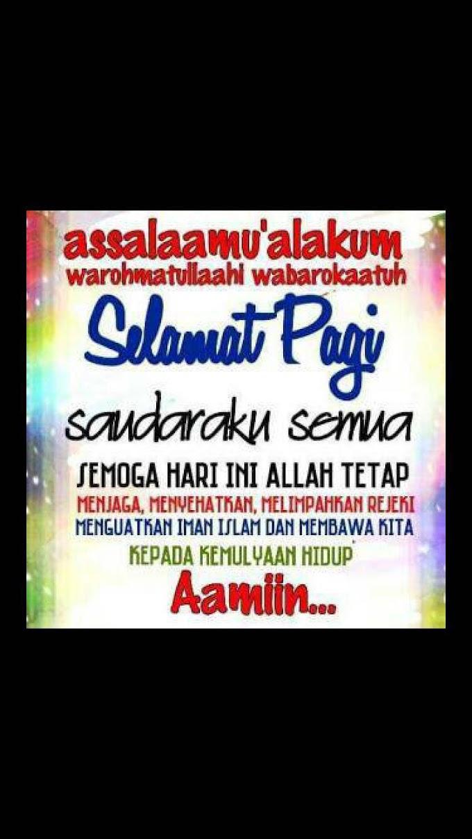 Salam Isnin !!