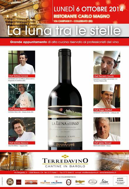 la magia della luna tra calici e chef #lalunatralestelle #terredavino