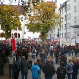 Demo 12.10.2013, Fotos Sascha Sprötge