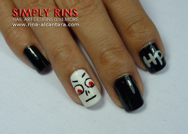Harry Potter nail art design 02