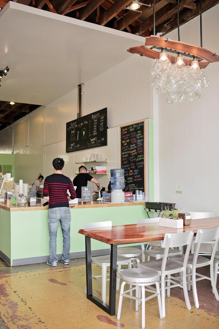 Hammonds Gourmet Ice Cream Flights (Where to Eat in San Diego).