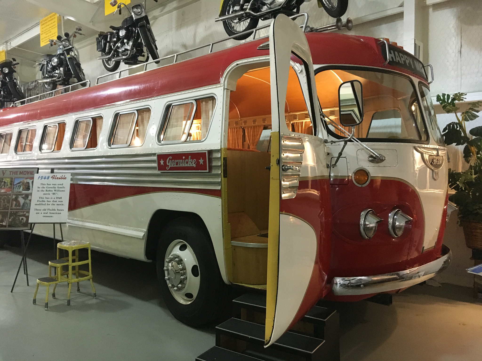 This One Was Of My Favorites It The Actual RV Used In Robin Williams Movie Its A 1948 Flxible Bus