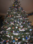 The White House's grand tree features ornaments from each state.