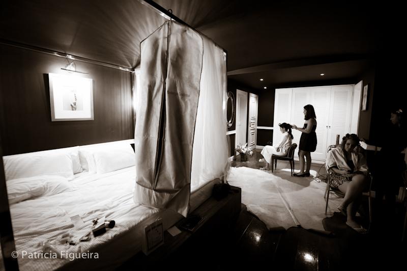 Foto de casamento 0128pb de Mônica e Diogo. Marcações: 20/08/2011, Casamento Monica e Diogo, Hotel, Hotel La Suite, Rio de Janeiro.