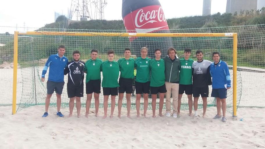 Selección de Ferrol de Fútbol Playa Juvenil.