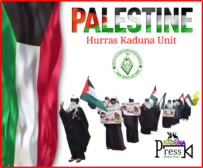 Fly The Flag For Palestine By Hurras Kaduna Unit Sister