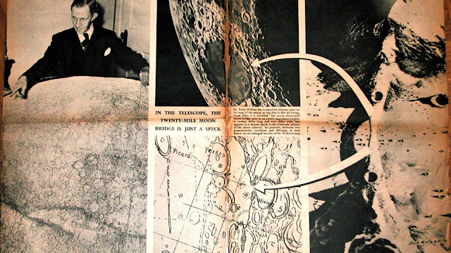 Map of the Moon.