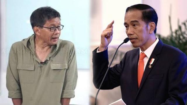 Soroti Semakin Kacaunya Keadaan Indonesia, Rocky Gerung: Kegagalan Pemerintah Semakin Terlihat, Jokowi Harus Lempar Handuk!