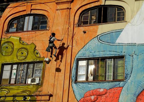 Free climbing creativo di Francesca Boschetti