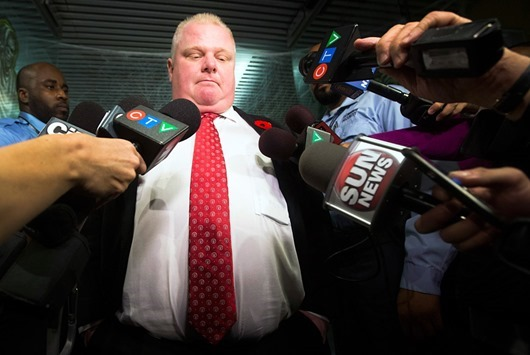 CANADA-TORONTO/MAYOR-FORD