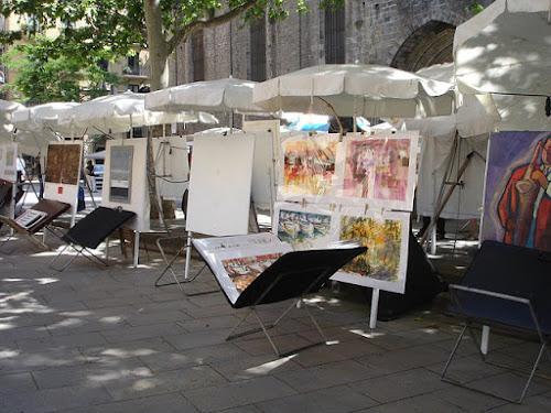 Selling art at the art fair