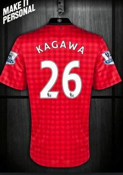 Shinji Kagawa Shirt 2013-14
