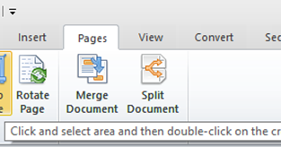 save pdf pages to separate files