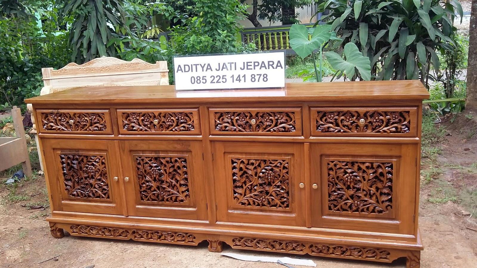 Bufet Palembang Ukir Toko Online Mebel Ukir Aditya Jati Jepara # Meubel Paletten