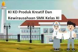 KI KD Produk Kreatif Dan Kewirausahaan SMK Kelas XI