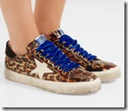 Golden Goose Leopard Print Sneakers
