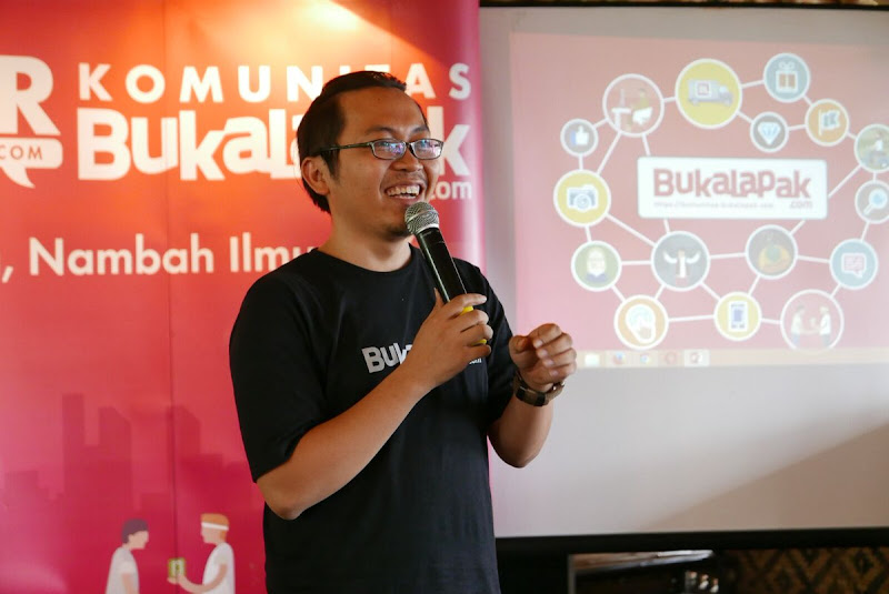 Om Zaky CEO Bukalapak