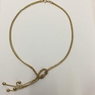 Vermeil Double Chain Necklace