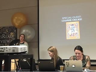 Ms. Lianne Oelke talking about her publishing process!