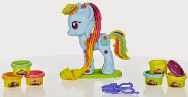 Bột nặn Trang trí My Little Pony Play-Doh B0011 được làm từ chất liệu an toàn