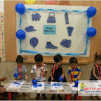Blue Day Celebrated by Playgroup Morning Section at Witty World, Chikoowadi (2017-18)