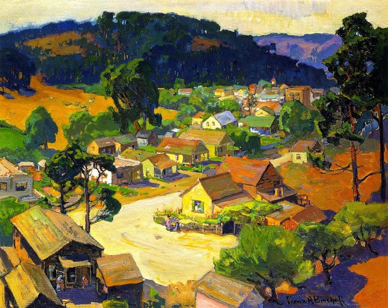 Franz Bischoff - Cambria, a Peaceful California Village